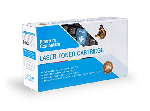 Premium Printing Products Compatible Ink Cartridge Replacement for HP Q7581A, Works with: Color Laserjet 3800, 3800DN, 3800DTN, 3800N, CP3505, CP3505DN, CP3505N, CP3505X Cyan