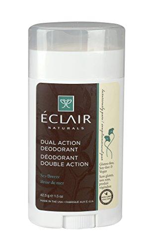 Eclair Naturals Dual Action Deodorant Sea Breeze 1.5 oz (Sea Breeze Naturals)