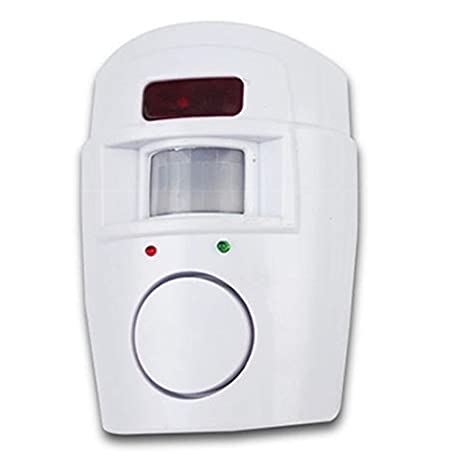 detector de movimiento antirrobo seguridad Alarma inal/ámbrica con sensor de movimiento LNIMIKIY cobertizo para el hogar,autocaravana f/ácil de instalar sistema de alarma inal/ámbrico