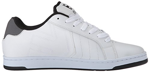 Etnies Männer Fader 2 Skate Schuh Weiß / Grau / Schwarz