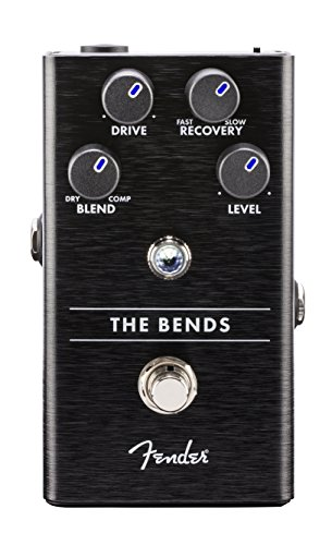 Fender The Bends Compressor Electric Guitar Effects Pedal by Fender