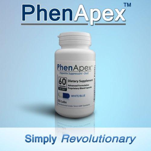 Phen Apex Blanc / Bleu Capsule approvisionnement de 30 jours (1 mois)