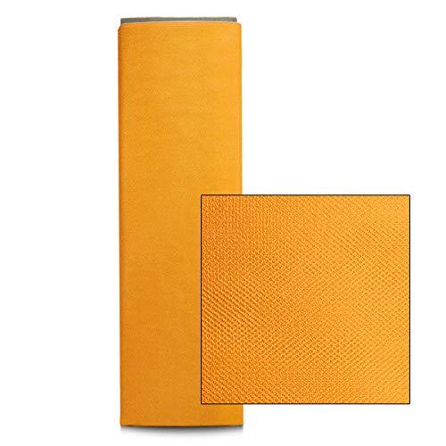 Lemon Yellow 54Inch 25Yard Expo International 54Inch Shiny Polyester Tulle Fabric, Lemon Yellow, 54Inch 25Yard