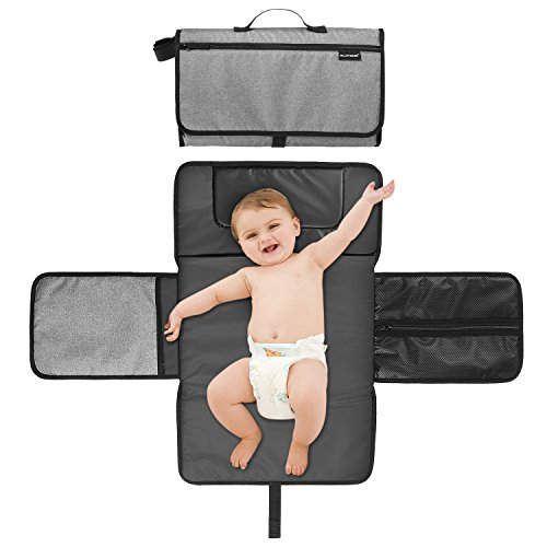 Foldable Waterproof Baby Diapers Changing Pad Kits Mattress, Unisex Replaceable Infant Covers Changing Station Mat, for Infants & Newborns by Alloyseed
