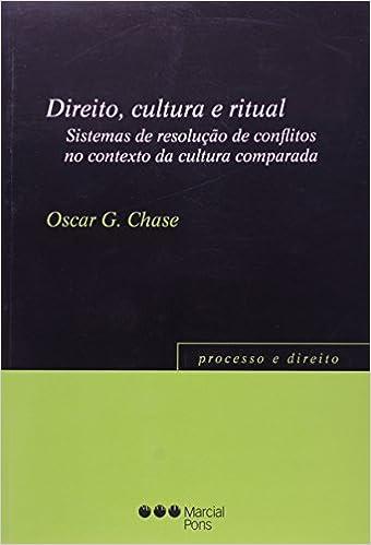 Amazon.com: Direito, Cultura e Ritual: Sistemas de Resolucao ...