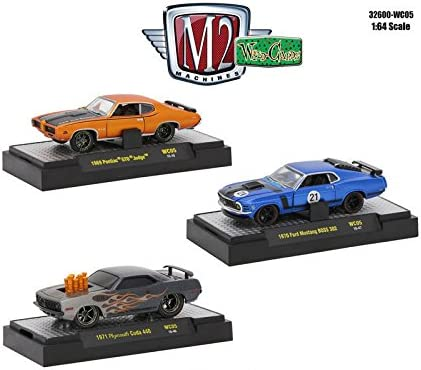 1//64 1971 Plymouth Cuda 440 WC05 M2 Machines Wild Cards Release 5