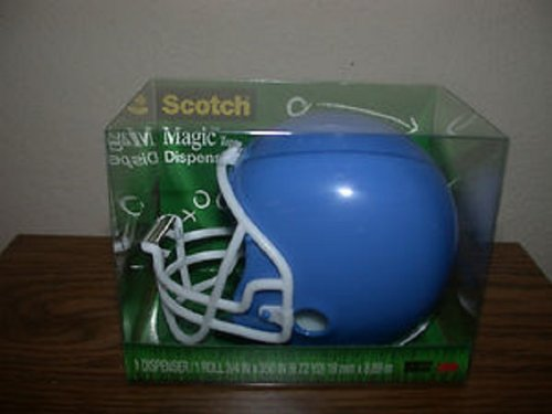 UPC 051141372983, 1 X Magic Tape Dispenser: Football Helmet (Colors Vary)