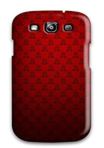 New Style BrewerEdward Fresh Red Texture Premium Tpu Cover Case For Galaxy S3