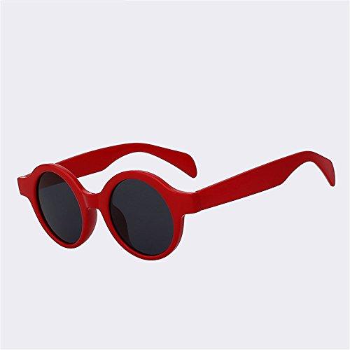 ronda C mujer viajar Playa Eyewear UV400 sol Vintage de Gafas marcha la SYXSN protección de conduciendo B sombras exteriores Caminante moda wqSRpXTw