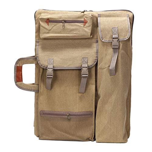 Canvas Drawing Board Zipper Bag Sketch Sketchpad 4k Pack Backpack Shoulder Bag Art Picture Artist Portfolio Carrying Case Supplies