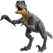 Jurassic World Slash 'N Battle Stinger Dino Action and Sound Figure Camp Cretaceous with Movable Joints, Slash