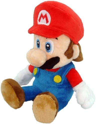 Amazon Com Super Mario Plush 8 Mario Soft Stuffed Plush Toy