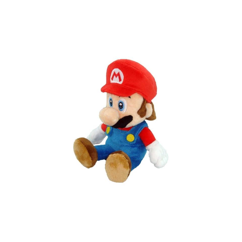 Super Mario Plush   8 Mario Soft Stuffed Plush Toy (Japanese Import)
