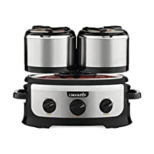 Crock-Pot Swing and Serve Slow Cooker, Stainless Steel
