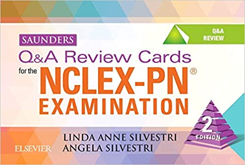 Saunders Q&A Review Cards for the NCLEX-PN review