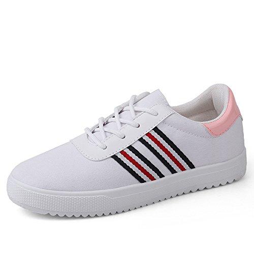 KHSKX-Deportes y ocio zapatos nuevos zapatos blancos zapatos deportivos y zapatos de ocio Blanco Treinta y cinco Thirty-nine