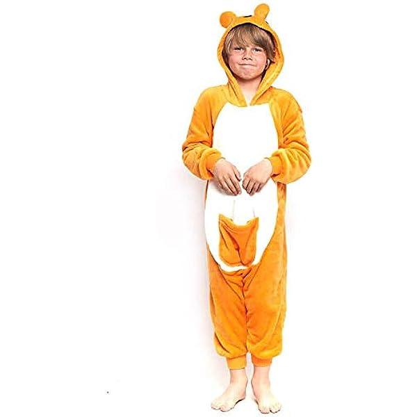 Disfraz Canguro Infantil Pijama Kigurumi para Carnaval (7-9 años ...