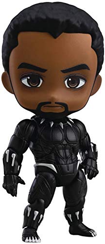 Good Smile Avengers: Infinity War: Black Panther (Infinity Edition) Deluxe Nendoroid Action Figure, Multicolor