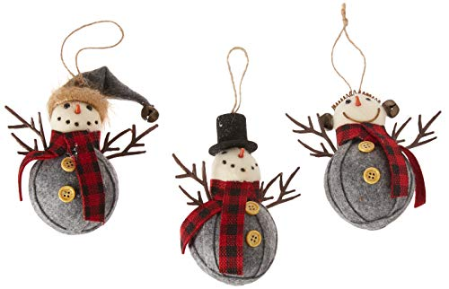 Department 56 Christmas Basics Red Scarf Snowman, 4