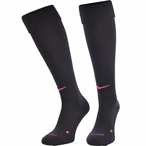 Calcetines de f¨²tbol Elite Crew Elite de Nike para hombres (Medianos, Rosados / Grises)