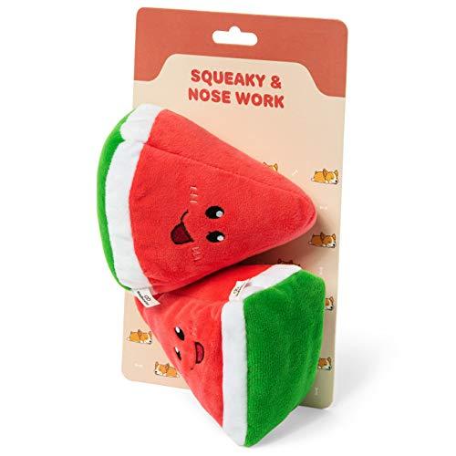 andbasics Dog Toy – Plush Dog Toy Set of Nose Work and Squeaky