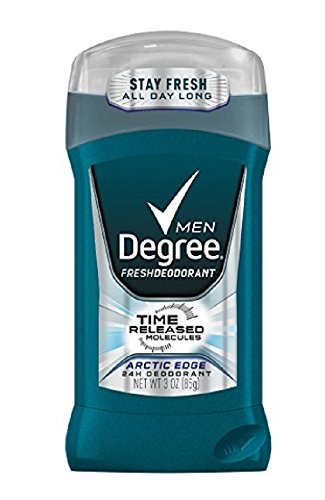 Degree Men Fresh Deodorant, Arctic Edge 3 oz