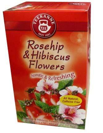 Amazon Com Rosehip And Hibiscus Tea Teekanne 20 Bags Herbal