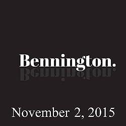 Bennington, November 2, 2015