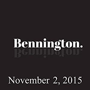 Bennington, November 2, 2015 Radio/TV Program