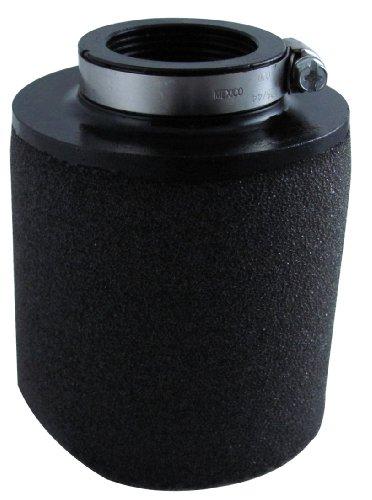 Uni Filter UP4125 Black Universal Urethane Flange Straight Clamp-On Pod Filter