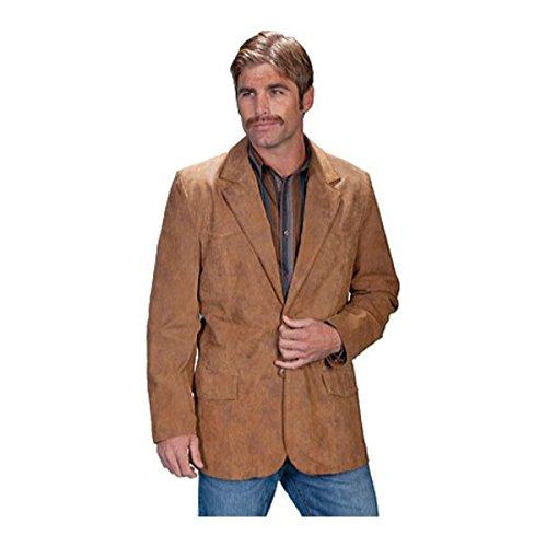 [スカーリー] メンズ ジャケット&ブルゾン Leather Blazer 602 Long [並行輸入品] B07DHN6TJD 40