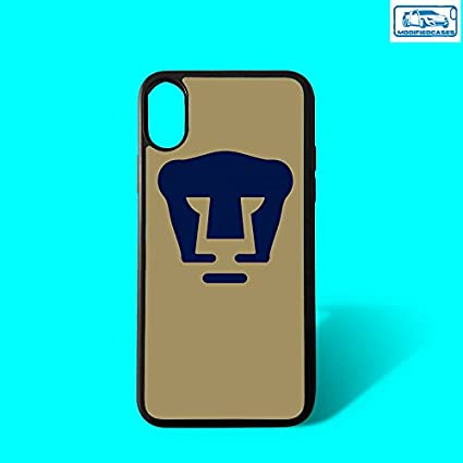 Pumas UNAM Liga MX ModifiedCases Bumper Case Compatible with iPhone X/XS