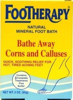 Queen Helene Footherapy 89 ml Mineral Foot Bath (3-Pack) by Queen Helene