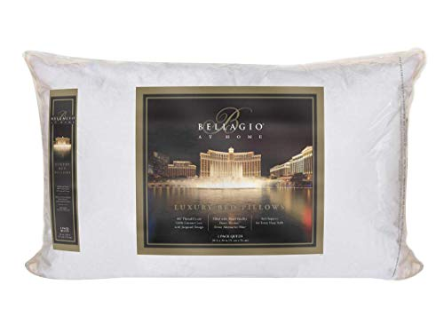 Bellagio 400-Thread-Count Queen Pillows, 2-Pack