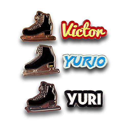 Amazon.com: 6-Pack Yuri en hielo Premium Coleccionable Juego ...