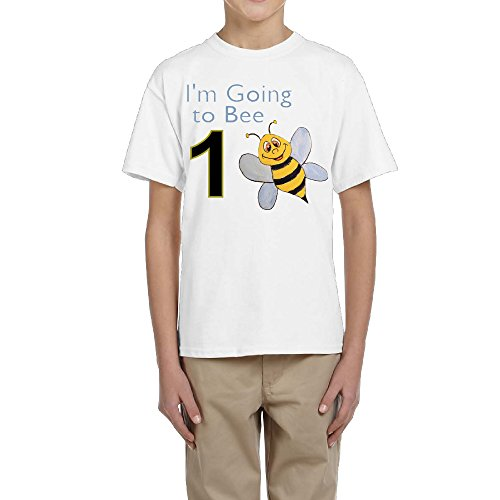 Personalized Bee Birthday Shirt Im Going To Bee Youngster Short Sleeve Make Your Own Shirt