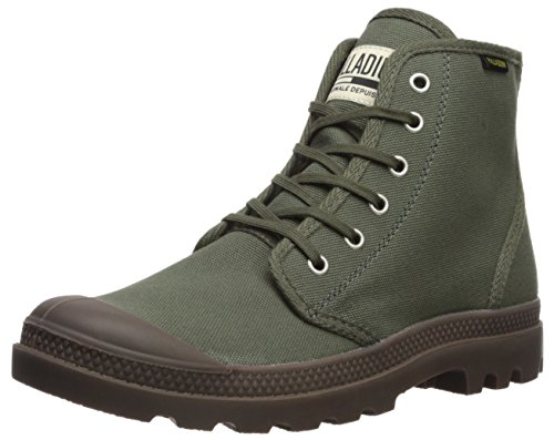 Palladium Pampa Hi Orginale Ankle Boot, Green-326, 8.5 Medium US