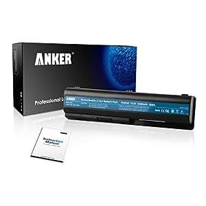 Anker New Laptop Battery for HP Pavilion DV4-1000 DV4-2000 DV5-1000 DV6-1000 DV6-2000 CQ50 CQ60 CQ70 G50 G60 G60T G61 G70 G71 Series, Fits P/N 484170-001 EV06 KS524AA KS526AA HSTNN-IB72 - 18 Months Warranty [Li-ion 6-cell 5200mAh/56WH]