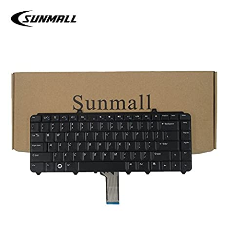 SUNMALL Keyboard Replacement for Dell Inspiron 1545 1525 1420 Laptop US Black (Inspiron 1545 Bezel)