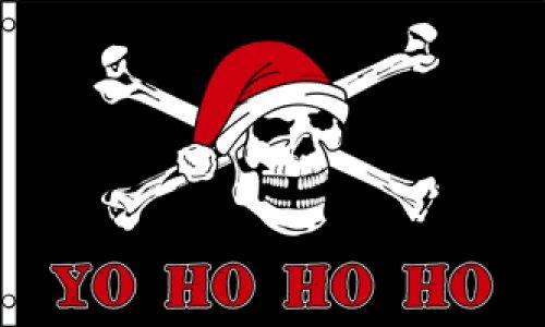 Yo Ho Ho Ho (Pirate) Flag 3x5ft