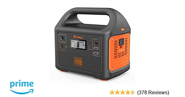 Jackery Portable Power Station Explorer 160, 167Wh Lithium Battery Solar  Generator Backup Power Supply with 110V/100W(Peak 150W) AC Outlet for