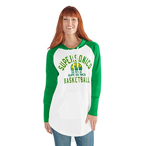 GIII For Her NBA Seattle Supersonics Women's All Division Hoody, X-Large, ()