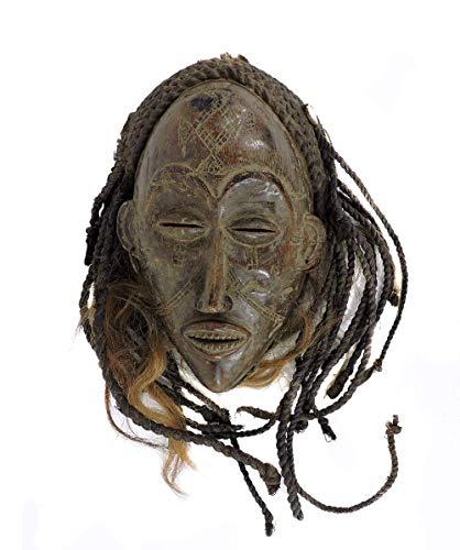 Chokwe Mask Mwana Pwo Headdress Congo African Art Collection