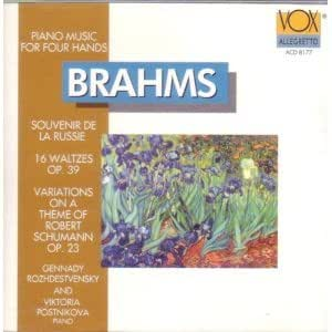 Brahms: Piano Music for Four Hands