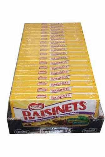 Nestle Raisinets Movie Theatre Concession Size Candy (18 (Movie Size)