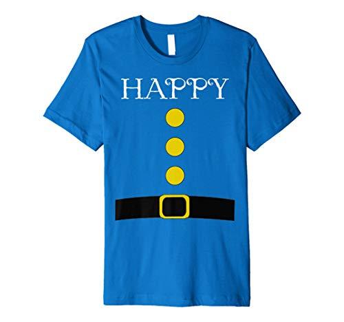 Jersey Girl Halloween Costume Ideas (Dwarf Costume T-Shirt - Funny Halloween Gift Idea Happy Premium)