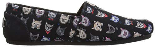 Negro Elegantes Plush Skechers32577 Gatos Bobs Negro 11 Mujer B US M ZqBUYBW