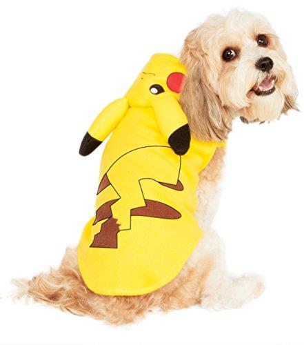 [Rubies Costume Pikachu Pet Hoodie, Medium] (Gigi Costumes)
