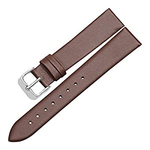 Genuine Leather Watch Band,Leather Watch Strap 12mm,14mm,16mm,18mm,20mm,22mm Ultra-Thin Straps Wristband