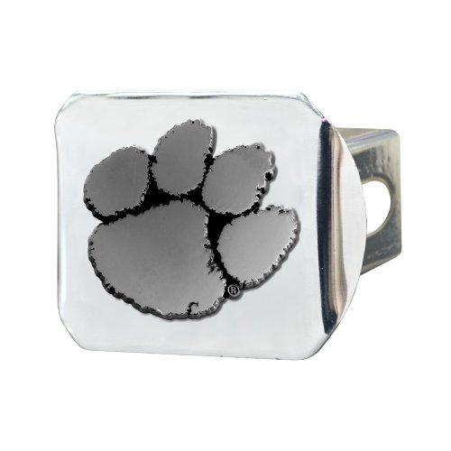 FANMATS NCAA Clemson University Tigers Chrome Hitch Cover